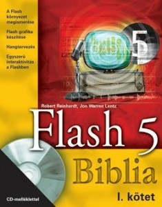 Flash 5 Biblia I-II kötet CD-vel